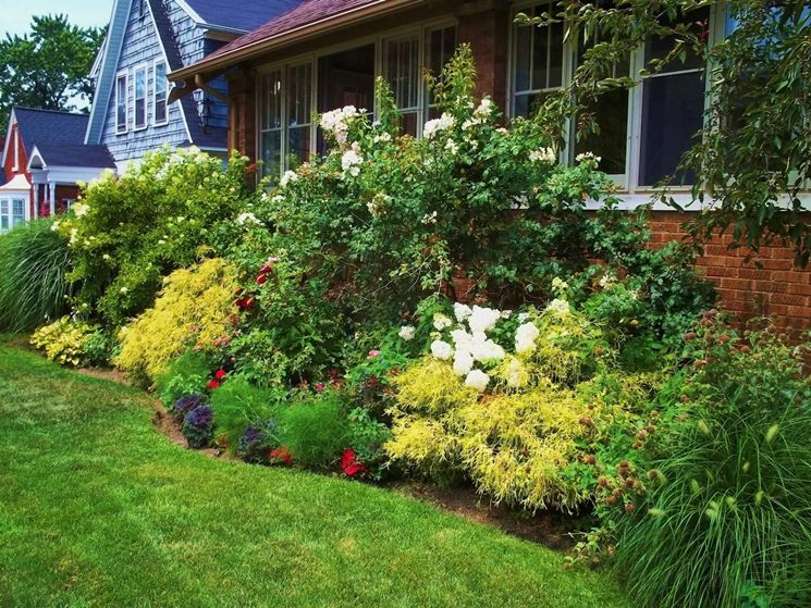 giardino stile cottage