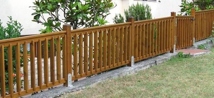 Recinzioni legno giardino pannelli termoisolanti for Cancelli di legno per giardino