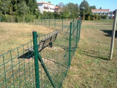 Rete recinzione giardino