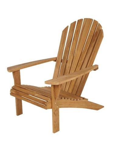 Sedie da esterno in legno