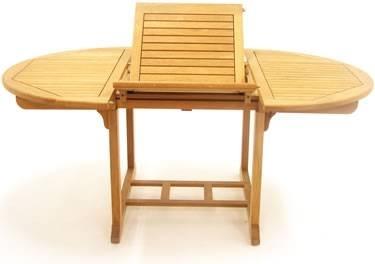 Tavoli da giardino quadrati allungabili idee creative e - Sedie e tavoli da giardino ...