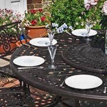tavolo da giardino in ferro