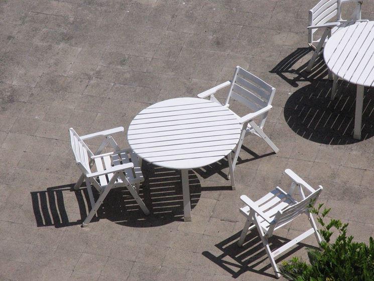 Tavolo da giardino plastica<p />