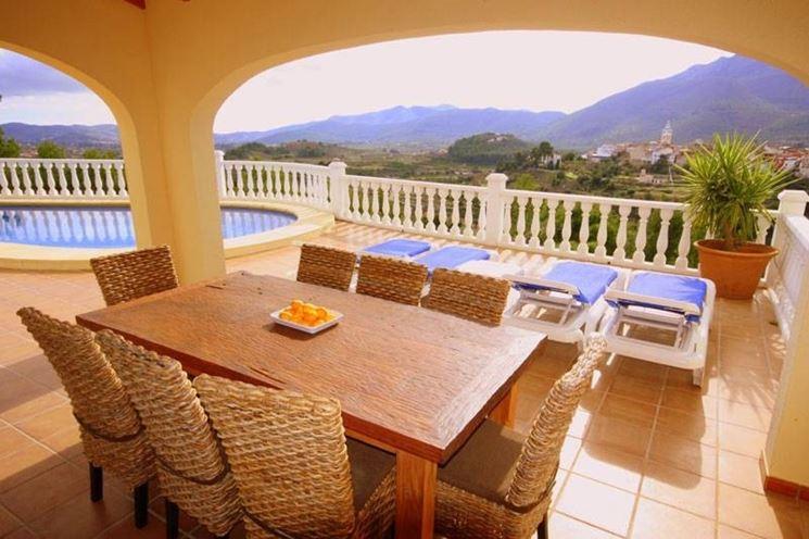 Tavoli da terrazzo tavoli e sedie for Arredo giardino terrazzo
