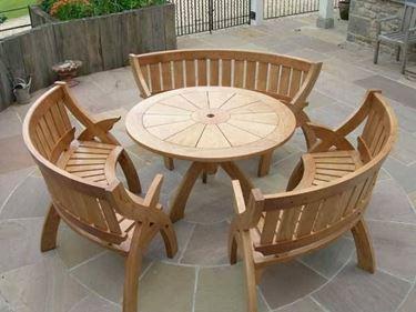 tavolo esterno in legno