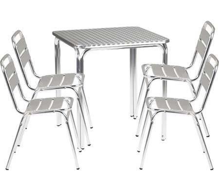 Tavoli esterno tavoli e sedie for Arredo da giardino in alluminio
