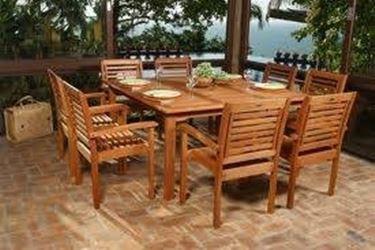 tavolo esterno legno