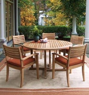 tavolo da esterno legno