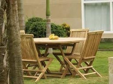I costi del tavolo da giardino in legno