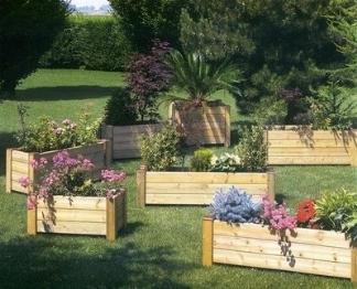 Fioriere giardino fioriere fioriere giardino vasi fioriere - Fioriere in legno per giardino ...