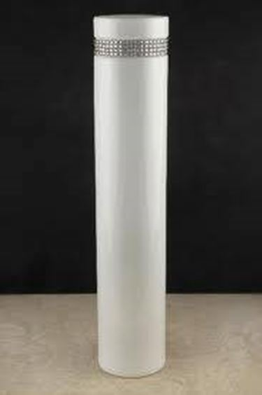 vaso alto in ceramica