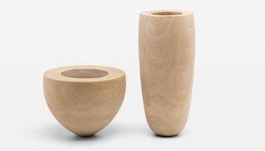 vasi da arredo legno