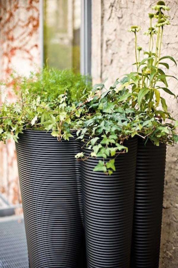 Vasi da esterno vasi for Vasi da giardino in plastica