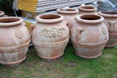 vasi da giardino terracotta
