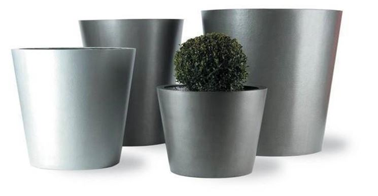 vasi da giardino alluminio