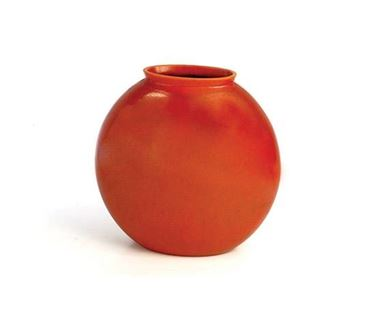 vaso design in terracotta