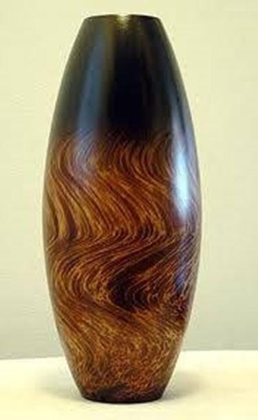 vaso design legno