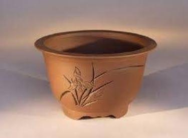vaso in terracotta per bonsai