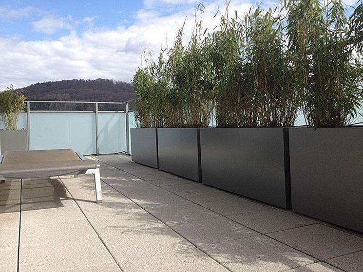 vasi per terrazzo