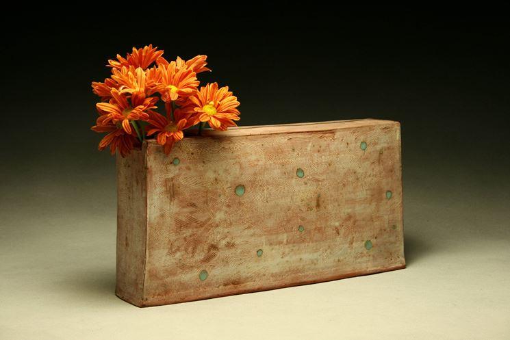 vaso rettangolare terracotta