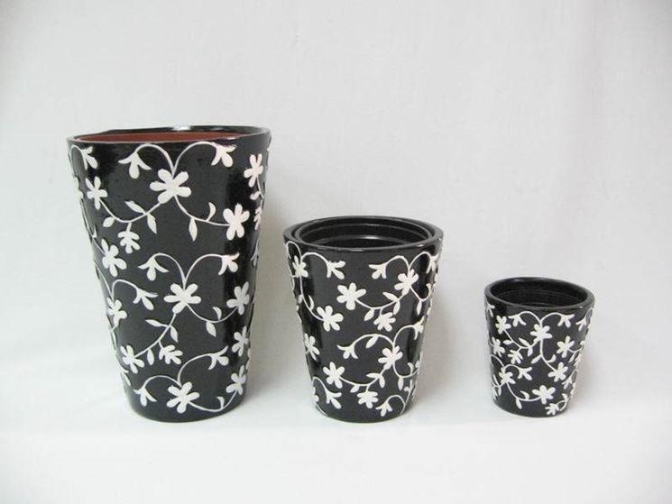 vasi piante ceramica