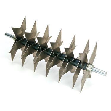Particolare dei coltelli di un Arieggiatore.