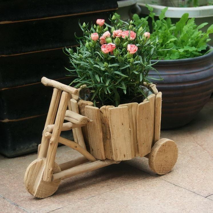 Carriola con forma di triciclo