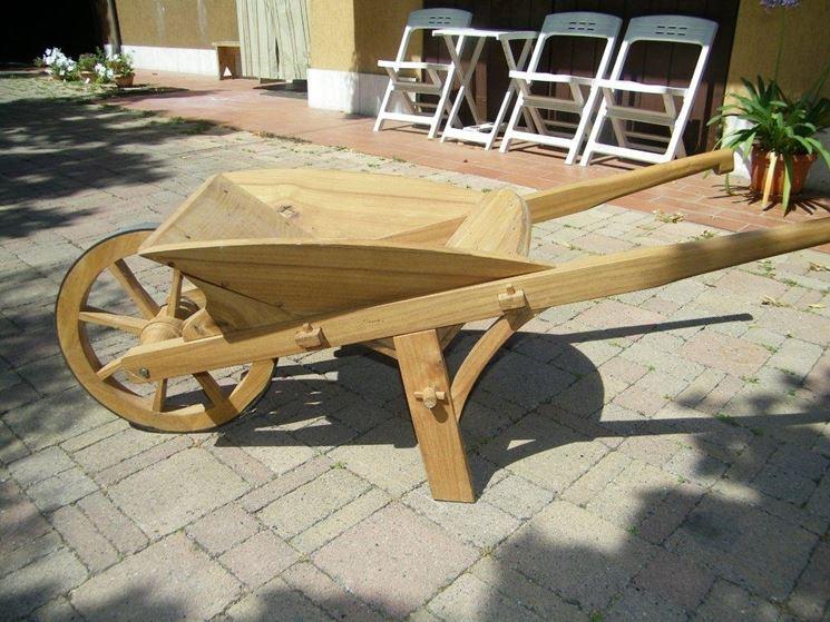 Come costruire una carriola
