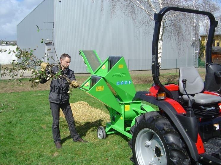 Biotrituratore per trattore