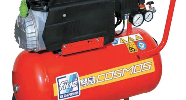 Compressore a cilindro con ruote