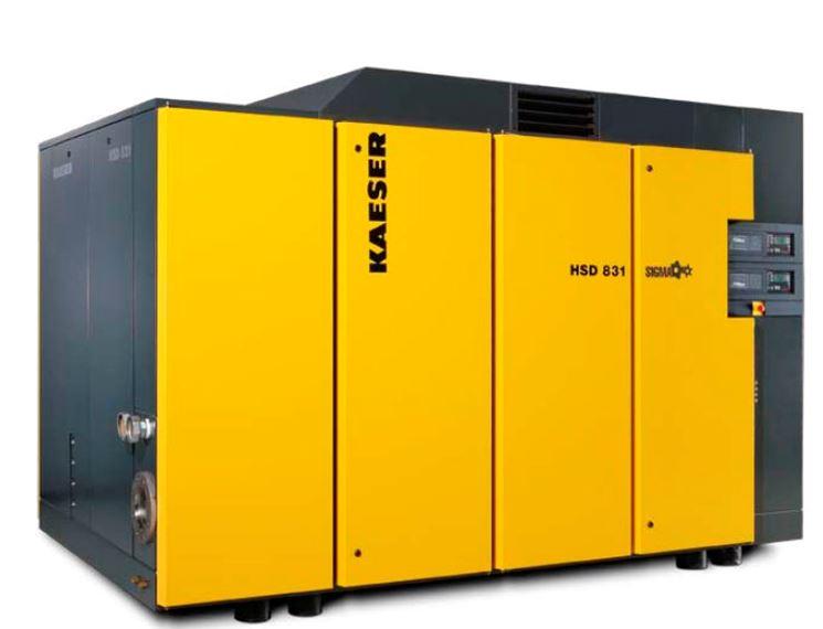 Compressore usato Kaeser industriale