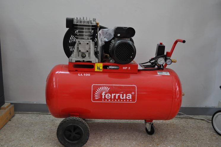 Compressore con portata di 100 litri