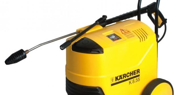 Una Karcher modello 8.55. (fonte www.ferredilceru.it)