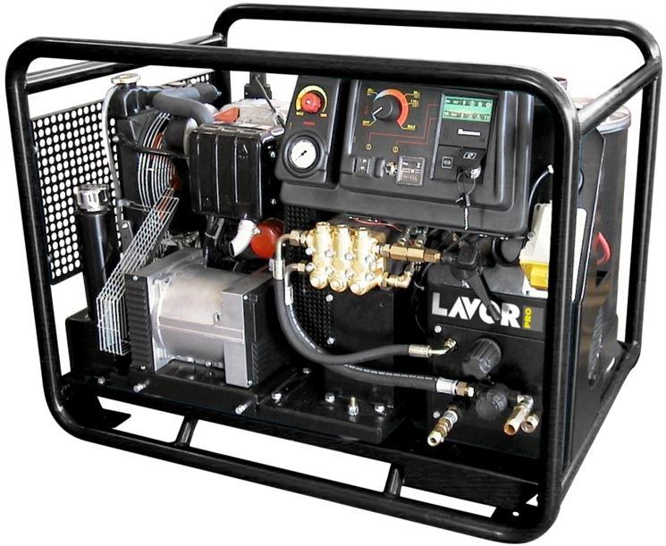 Idropulitrice professionale autonoma ad acqua calda Lavor Pro Thermic 17