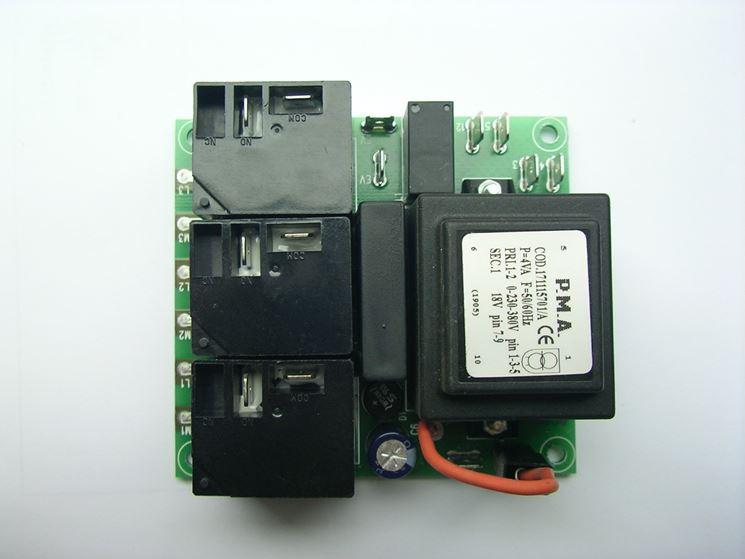 Scheda elettronica per idropulitrici