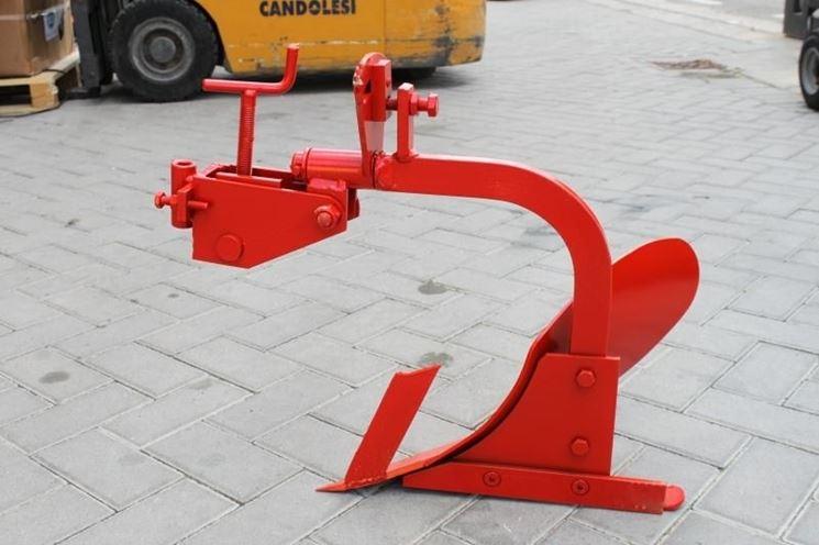 Accessori per motocoltivatore: aratro