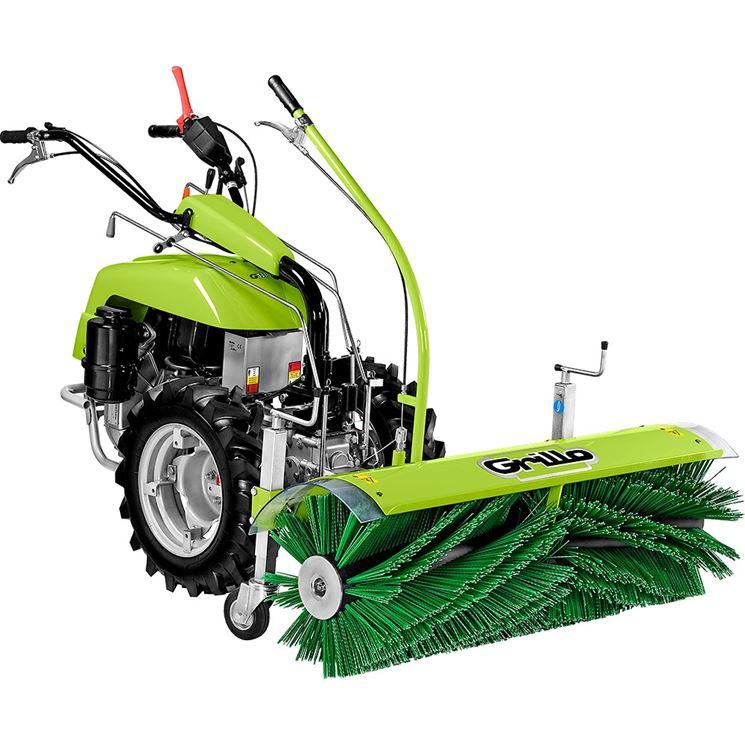 Il motocoltivatore � l'ideale per l'orto