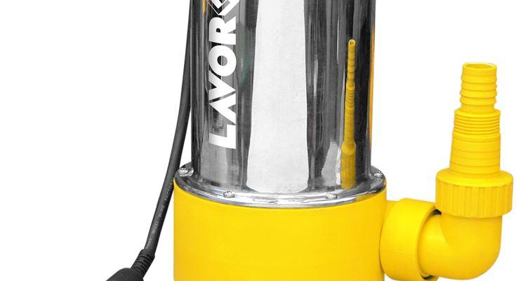 Elettropompa per il drenaggio di acque poco pulite (cantine garage ecc)
