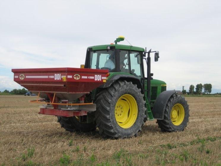 Spandiconcime per l'agricoltura