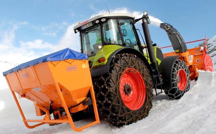 Fresa da neve per trattore