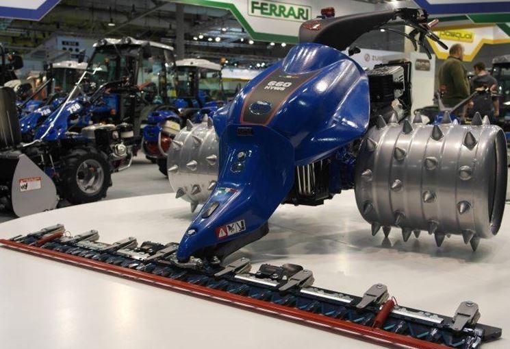 La motofalciatrice BCS 660 HY WS
