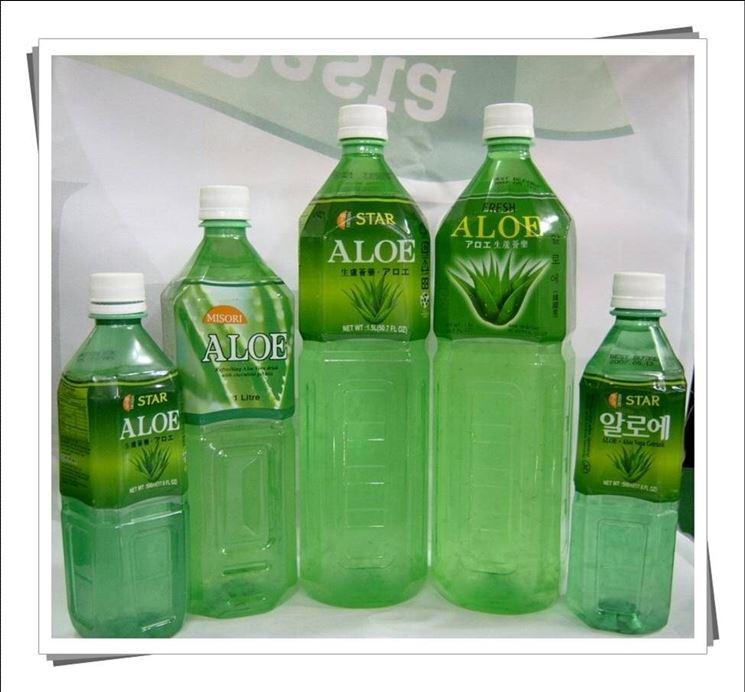 Succo di aloe vera