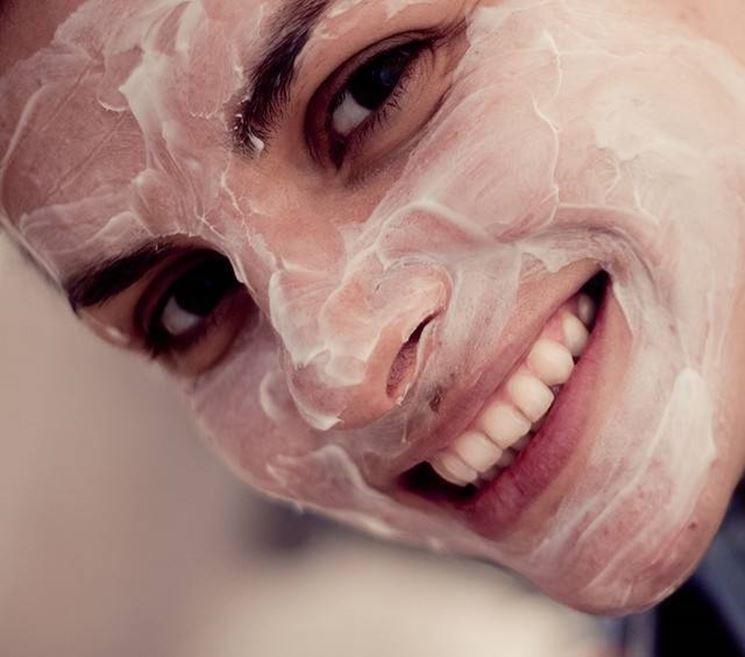 maschera per viso