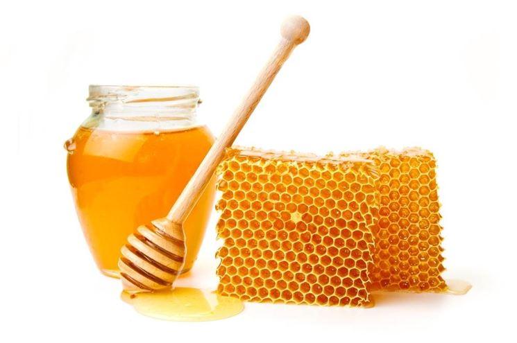 Miele con favi