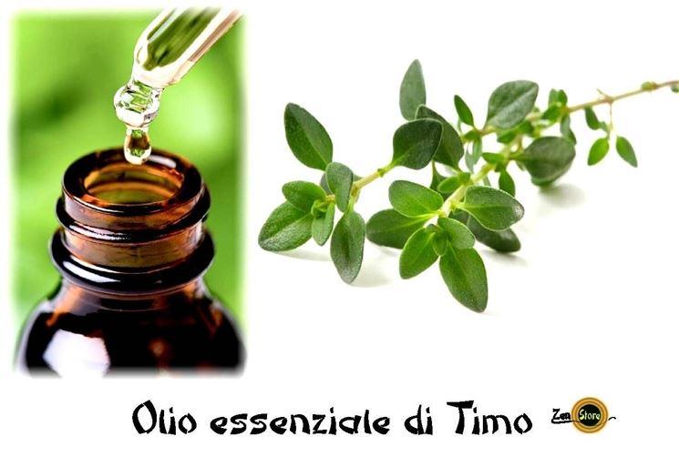olio essenziale di timo rimedio