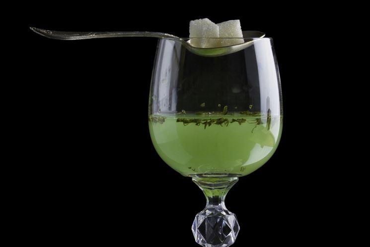 Bicchiere di assenzio
