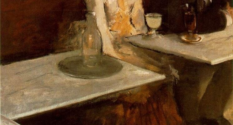Bevitori d'assenzio nella pittura