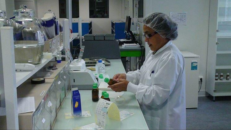 Esperto in laboratorio