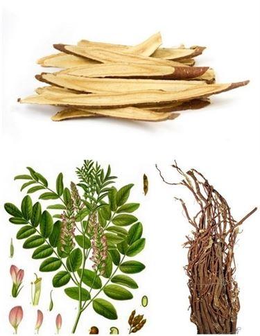 Tra gli ingredienti della tisana Kelemata ci sono la senna e la liquirizia.