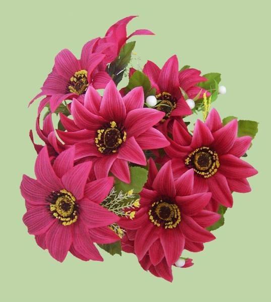 Composizioni fiori artificiali composizione di fiori finti for Arredare con fiori finti